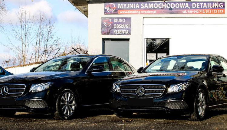 Mercedes klasy E wypożyczalnia